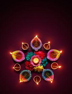 Colorful diya lamps lit during diwali celebration stock photo Happy Diwali Wishes Images, Happy Diwali Wallpapers, Diwali Greetings Quotes, Happy Diwali Photos, Diwali Quotes, Diwali Festival Of Lights, Diwali Lights, Diwali Pictures, Images Of Diwali