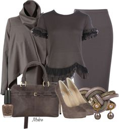"""""""Taupe ..."""" by mrsbro on Polyvore"""