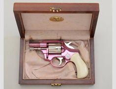 Pink revolver