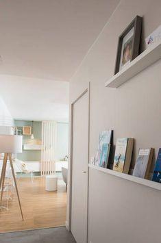 miniature Ambiance scandinave dans une pièce à vivre à Lyon, Lyon, Marion Lanoë - architecte d'intérieur