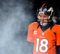Double-OT dismay : Peyton Manning NFL career in photos Peyton Manning, Manning Nfl, Denver Broncos Football, Football Fans, Football Humor, Football Shirts, Football Trophies, Football Helmets, Indianapolis Colts