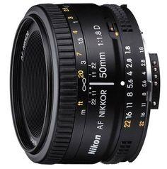 Nikon 50mm f/1.8D AF Nikkor Lens for Nikon Digital SLR Cameras