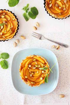 Recetas de Mon: Tarta de Caquis Persimon con pistachos