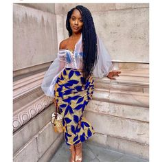 ankara mode Are you planning on your next Ankara dress styles without a clue what to make? Always remember that there are no rules to the game. Check out these styles. African Print Wedding Dress, African Print Dresses, African Print Fashion, Africa Fashion, African Fashion Dresses, African Dress, Fashion Prints, Ankara Fashion, African Outfits