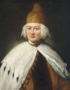 Paolo Renier, penultimate Doge of Venice, ca. 1779 (Alessandro Longhi) (1733-1813) Location TBD
