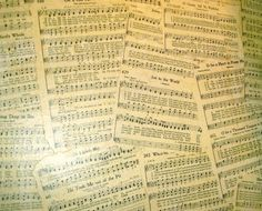 Ramblings of a Happy Homemaker: budget decor - wall paper on the cheap Music Ministry, Decorating On A Budget, Choir, Small Groups, Homemaking, Worship, Sheet Music, Budgeting, Faith