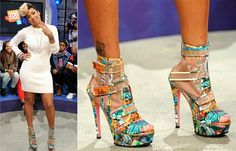 2ed2d4c62c6 Keyshia Cole Shows Off Shoes From Her Steve Madden Collection