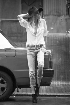 Capeline + chemise et pantalon