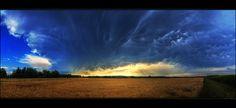 Hungarian skies pt.CXXXI.  by   Zsolt Zsigmond  - What a beautiful sky.