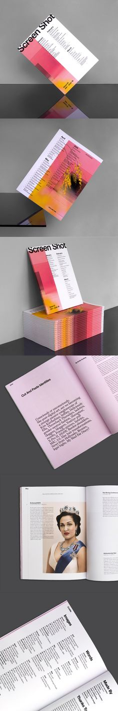 Screen Shot Issue 01 | Designed by Alessia Arcuri