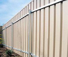 sheet metal fencing - Google Search