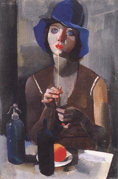 Laura No. 1  by Vilmos Aba-Novák