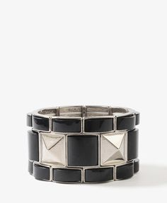 Lacquered Pyramid Bracelet | FOREVER 21 - 1021840122