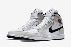 """Another Colorway of the Air Jordan 1 High """"Elephant Print"""" Emerges"""