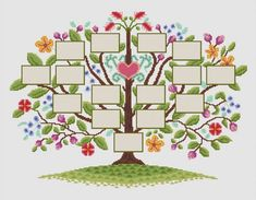 Family Tree Designs, Family Tree Art, Orla Infantil, All About Me Crafts, Free Family Tree Template, Art History Timeline, Party Set, Tree Templates, Baby Clip Art