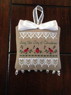 Victoria Sampler Christmas Ornament