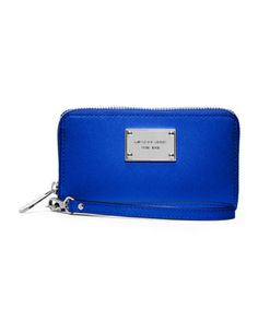 Cool in cobalt. MICHAEL Michael Kors Large Multifunction Phone Case