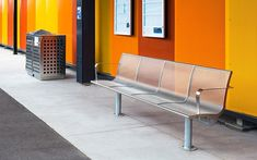 Town & Park STATION Stainless Steel Seat