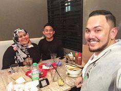 Late dinner with my @ss_creatives family @imeldaharris @amir_gani