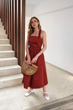 Fashionable Spring And Summer Minimalist Style Ideas For 2020 Dress Outfits, Casual Dresses, Fashion Outfits, Fashion Trends, Fashion Ideas, Dress Fashion, Fashion Women, Summer Minimalist, Minimalist Fashion