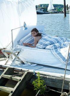 Ein Polsterbett ist auch sehr nett!