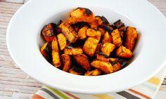 Balsamic Roasted Sweet Potatoes