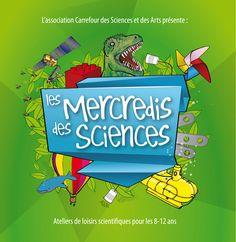 Ca y est ! La nouvelle programmation des ateliers des Mercredis des Sciences, tant appréciés des enfants (comme des parents !) vient d'arriver ! Tous les mercredis après-midi, de 14h à 16h, nous proposons aux jeunes curieux...