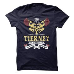 its a TIERNEY Thing You Wouldnt Understand  - T Shirt, Hoodie, Hoodies, Year,Name, Birthday