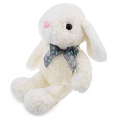 Multifunctional Cute Rabbit Plush Toy Babies Stroller Hangin Baby Bed Animal Dolls Stroller Accessories Christmas Gift