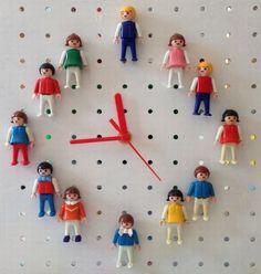 DIY: Φτιάξτε μόνοι σας ένα ρολόι τοίχου με Playmobil - Imommy