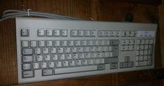 Vintage IBM Spanish Model KB-6326 Mint NIB Soft Touch PS/2 Computer Keyboard