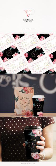 @OneGiraphe Brand Identity for sale! www.One-Giraphe.com #behance #designer #logo #logos #femininelogo #sweet #cute #macarons #bakery Coffee Shop Branding, Sale Logo, Victoria S, Macarons, Brand Identity, Bakery, Beverages, Behance, Packaging