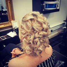 Updo by Katie at Kreation, Sligo Updos, Stylists, Dreadlocks, Hair Styles, Beauty, Up Dos, Hair Plait Styles, Hair Makeup, Hairdos