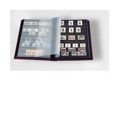 Stamp Album Stockbook by Lighthouse 32-Black Page Stamp Stock book LS2/16 Black