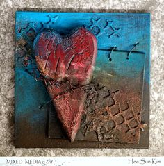 """Mixed Media & Art: """"Tied my love"""" by Hee Sun Kim"""