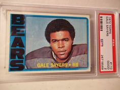 1972 Topps Gale Sayers PSA Good 2 Football Card #110 NFL HOF Collectible #ChicagoBears