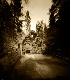 "Pinhole Photography by Sarah Suttles, ""Witch House :: Forest Park""  Portland, Oregon, United States"