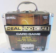 Deal Or No Deal Silver Briefcase 2006 Cardinal Industries  #CardinalIndustries