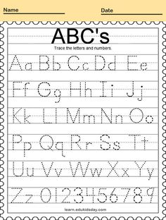 #PrintableTracing preschoolers tracing letters and number #kids #coloring #coloringpages #coloringsheets #coloringbooks #printablecoloringpages Tracing Shapes, Number Tracing, Tracing Letters, Kids Coloring, Coloring Books, Intellectual Skills, Children's Choice, Preschool Games, Problem Solving Skills
