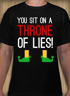 3d7bdc30bf7 Elf inspired Christmas t-shirt idea and template. Customize   order online  with free