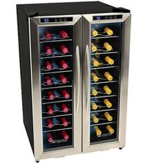 EdgeStar 32-bottle Dual-zone Wine Cooler Overall Rating Rating 3.9  |  17 reviews  |  Write a review Today $449.99 20.6 / 32.5