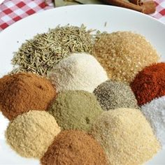 Make your own jerk seasoning with this recipe that calls for a blend of more than 12 herbs and spices. Rub Recipes, Easy Homemade Recipes, Homemade Spices, Homemade Seasonings, Dog Food Recipes, Keto Recipes, Healthy Recipes, Fish Seasoning Recipe, Seasoning Mixes