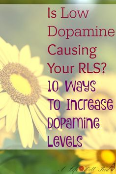 Restless Leg Syndrome has plauged me since my childhood! Having a CHEMICAL IMBALANCE makes so much sense! The video included in this article gave me PRACTICLE & NATURAL ways to INCREASE MY DOPAMINE LEVELS. Having Fibromyalgia & CFS/ME is bad enough, but RLS is like the annoying little cherry on top! LOVE that there are things I can do that might help! *Pin Now Read Later ♥♥♥