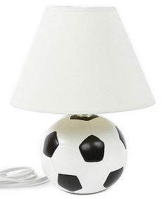 Another great find on #zulily! Soccer Ball Table Lamp #zulilyfinds