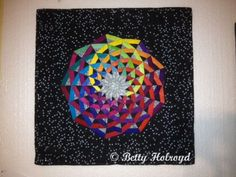 Spiraling Galaxy quilt by Betty Holroyd Tampa, FL.  Another version of Dancing Ribbons by Cindy Rounds Richards