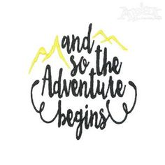 Adventure Embroidery Designs