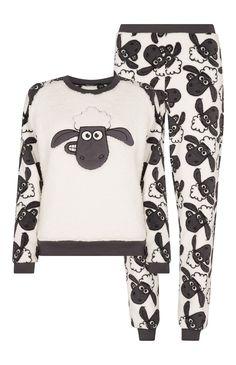 Primark - Conj. pijama polar Ovelha Choné