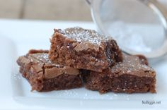 Homemade Brownies these are really cake like, but they are good. We like ours more gooey. .