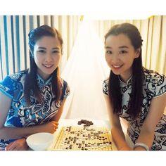 #ShareIG Getting traditional ️ #qipao #weiqi #chinesechess #latergram #filmmaking