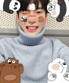 Nct 127, Free Photo Filters, Pop Photos, Nct Doyoung, When You Smile, Jisung Nct, We Bare Bears, Jaehyun Nct, Kawaii Wallpaper